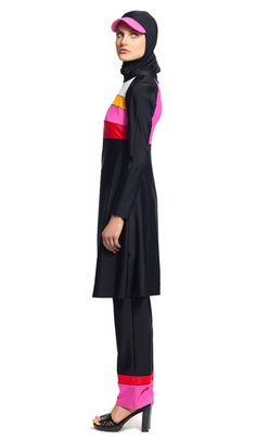 Modest stylish swimsuit bathing suit burkini | Mode-sty #swimnotskin