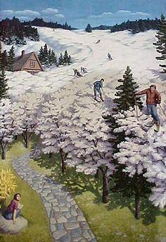 ♥ Rob Gonsalves - Spring Skiing