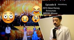My Reaction to Miss Universe 2015 Steve Harvey Announces WRONG Winner , ...