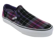VANS CLASSIC SLIP ON SKATE SHOES 3.5 ..4 me Punk Shit!!! Grrrrreat!!!
