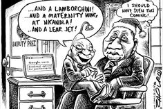 Zapiro: All Zuma wants for Christmas - Mail & Guardian News South Africa, Christmas Mail, Thing 1, Folk Music, Caricature, Archaeology, Investing, African, Comics
