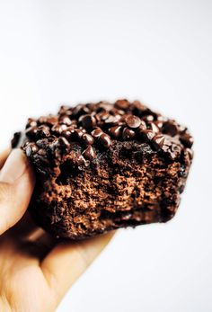 Undercooked them, but Cate said they were brownies! Decadent fudgy chocolate muffins made with sweet potato, avocado, and cauliflower. Avocado Dessert, Paleo Dessert, Dessert Recipes, Diet Recipes, Paleo Sweets, Healthy Desserts, Bread Recipes, Healthy Food, Healthy Eating