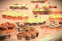 Cupcakes from @chelseamarket