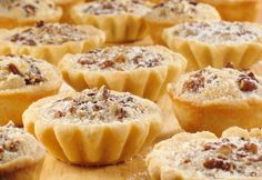 A makes these adorable Pecan Tarts even more delicious! Sponsored by Daisy Sour Cream Tart Recipes, Baking Recipes, Dessert Recipes, Butter Tarts, Butter Pecan, Daisy Sour Cream, Pecan Tarts, Czech Recipes, Catering Food