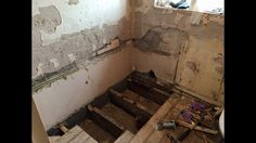 Bathroom ripped out!