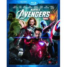 Marvel's The Avengers (Two-Disc Blu-ray/DVD Combo in Blu-ray Packaging) (2012)
