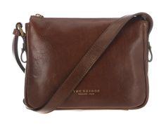 The Bridge Tan Italian Leather Small Cross-Body Bag   Pure Luxuries
