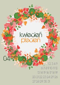 Here's a free printable 2015 calendar for all of you who loves flowers and nature. You can download it from: http://www.kaja.lebork.pl/KAJA-Kalendarz-2015.html and print it for you or your friends! #kalendarz2015 #kwiecien #april2015 #kwiecienplecien #kwiaty