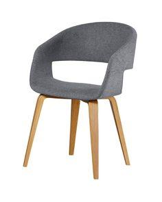 Stuhl »Holstebro« (anthrazit) - Stühle - Esszimmer & Küche - Dänisches Bettenlager