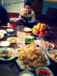 Come and join Afghan food       In Mazar I Sharif