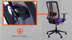 Tu postura es vital! Al elegir la silla que usarás en tu oficina considera estas cualidades:  - Ajuste de altura - Comodidad - Calidad  Además de estas características, nuestra silla Romina te ofrece un sistema lumbar independiente