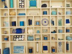 Vintage Setzkästen - Setzkasten gefüllt - ein Designerstück von krempelsalon bei DaWanda