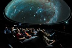 Watch Sci-Fi Films In London's Only Planetarium - Sit back and watch a sci-fi film projected onto the Observatory's screen ©National Maritime Museum