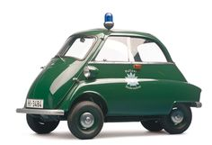 1961 BMW Isetta 300 Police Car Catch me if you can.