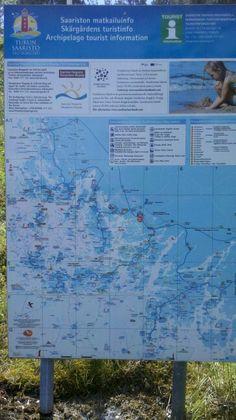 Saariston kartta Houtskarin Näsbyssä