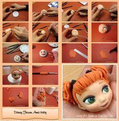 Anna Frozen mini doll viso_FindYourCake_MiniTutorialFotografico