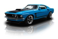1969 Ford Mustang Boss 302 Blue