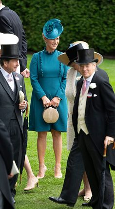 Princess Eugenie, Autumn Phillips and Zara Tindall lead the royals at Ascot Ladies' Day - Royal Ascot Ladies Day, Autumn Phillips, Zara Looks, Lady Louise Windsor, Zara Phillips, Princess Eugenie, Weekly Outfits, Royal Fashion, Royalty