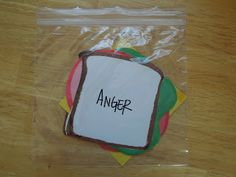 Anger Sandwich - Teaching/Counselling Tool