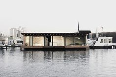 Modern Houseboat accommodation