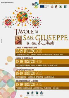 FOGLIE: Gal Terra D'Otranto - Tavole di San Giuseppe