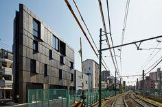 KINO architects masahiro kinoshita KURO building tokyo designboom