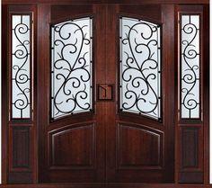 Double Front Door With Sidelights alexandria 6lt double door with sidelights | square top doors