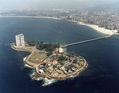 ISLA DE TORALLA...unida a la playa de Samil.