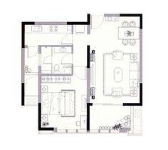 Small Floor Plans On Pinterest Floor Plans Square Meter