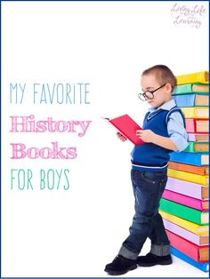 Get boys hooked into history with these funny and gross history books for boys
