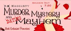 Release Blitz:: Murder, Mystery, & Dating Mayhem by D.E. Haggerty