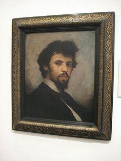 Josef Vaclav Myslbek (1875) by Brožík.
