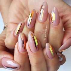 Manicure Ideas With Foil Stripes To Inspired You picture 3