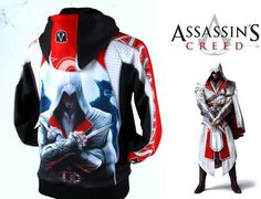Assassin's Creed Cosplay Cotton Hoodies
