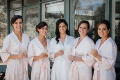 Bridesmaid Robes by LeRoseGifts on Etsy