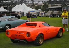 Photographs of the 1971 Lancia Stratos HF Prototype. An image gallery of the 1971 . Retro Cars, Vintage Cars, Strange Cars, Pebble Beach Concours, Classic Italian, What Is Like, Concept Cars, Lamborghini, Luxury Cars