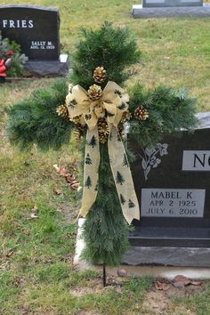 We specialize in custom grave decorations and live and artificial wreaths and home décor. We also have a nice selection of gift items in our gift shop. Below are some examples of our work. Grave Flowers, Cemetery Flowers, Funeral Flowers, Cemetary Decorations, Xmas Decorations, Graveside Decorations, Casket Sprays, Funeral Flower Arrangements, Memorial Flowers