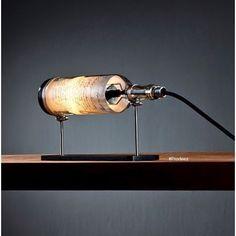 From Prodeez Product Design: Wine Bottle Lamp Series by John Meng. For more info & images visit www.prodeez.com #furniture #lamp #bottle #creative #design #ideas #designer #johnmeng #interior #interiordesign #product #productdesign #instadesign #style #furnituredesign #prodeez #industrialdesign #art