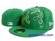 Comprar Baratas Gorras Atlanta Braves Fitted 0068 - Gorrascielo.com