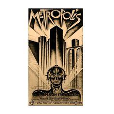 ArtWall 'Metropolis' Movie Poster