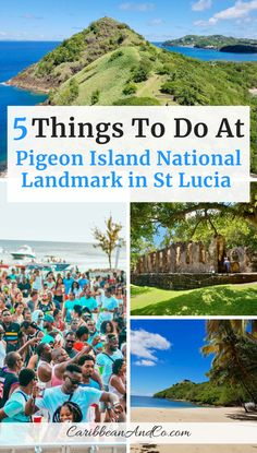 Find out about the history and top things to do at Pigeon Island in St Lucia now named Pigeon Island National Landmark. Places To Travel, Travel Destinations, Travel Tips, Travel Articles, Travel Guides, National Landmarks, Sainte Lucie, Adventure Of The Seas, Caribbean Vacations