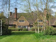 Gertrude Jekyll's home Munstead Wood in Surrey