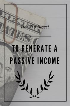 There are specific ways that you can invest to generate a passive income stream that you can potentially live off of. via @collegeinvestor