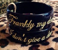 Sassy sayings bangles by EclecticHOBO on Etsy