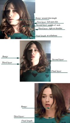 Allison Argent (Crystal Reed)'s hair from season 3 of Teen Wolf. I might have to try this sometime.