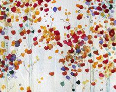 Popular items for aspen tree painting on Etsy