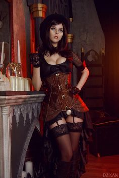 Model: Helly von Valentine Photo: M.Dzikan Cosplay Photography Welcome to Gothic and Amazing  www.gothicandamazing.com