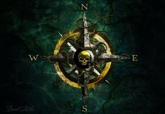 Pirate compass by ~DRock9246 on deviantART