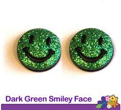 Hopeez™ Dark Green Smiley Face    $10.00