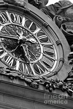 Grand Clock - NYC Architecture Photography Print